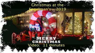 Engelman Christmas Display - 2019