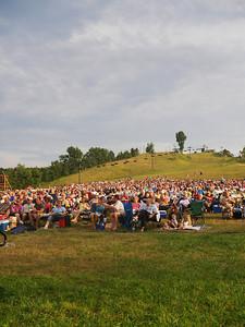 Nice crowd.