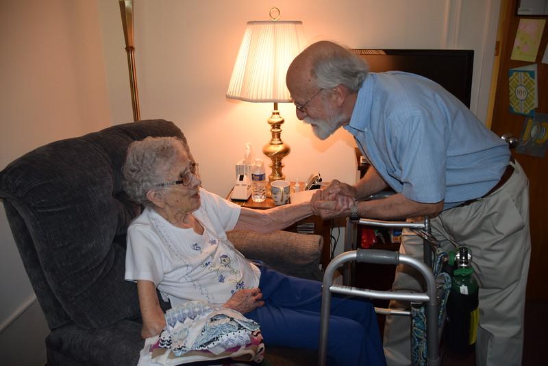 Happy 100th Birthday to Frances Nash!- May 6, 2015