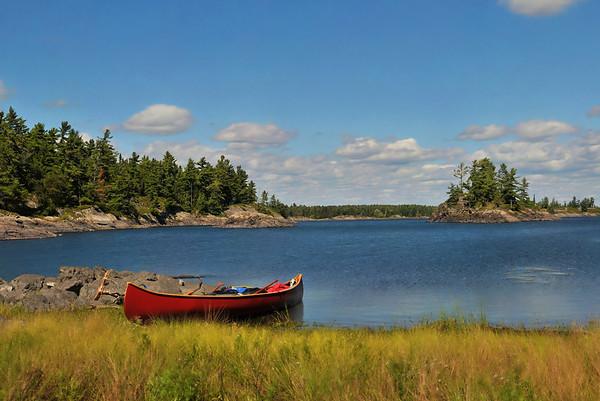 The classic artsy canoe shot