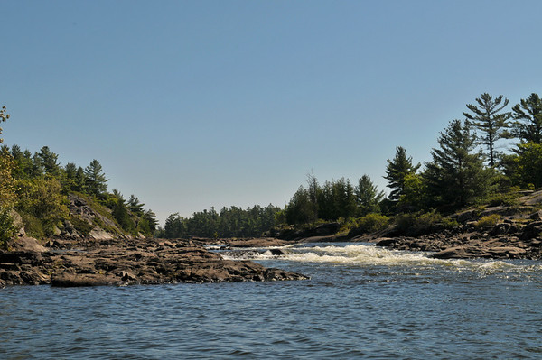 Dullas Rapids at the north end of the main channel.