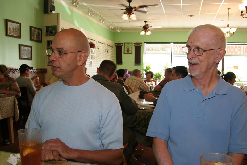 Mike and Leo again.l