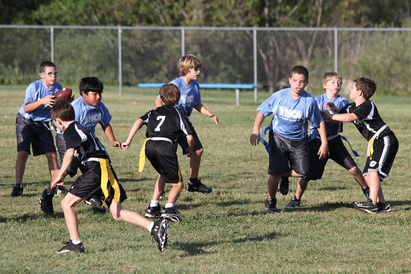 Run out and catch pass sequence....