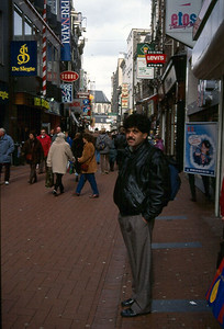Sarfaraz Khan whlie exploring Amsterdam