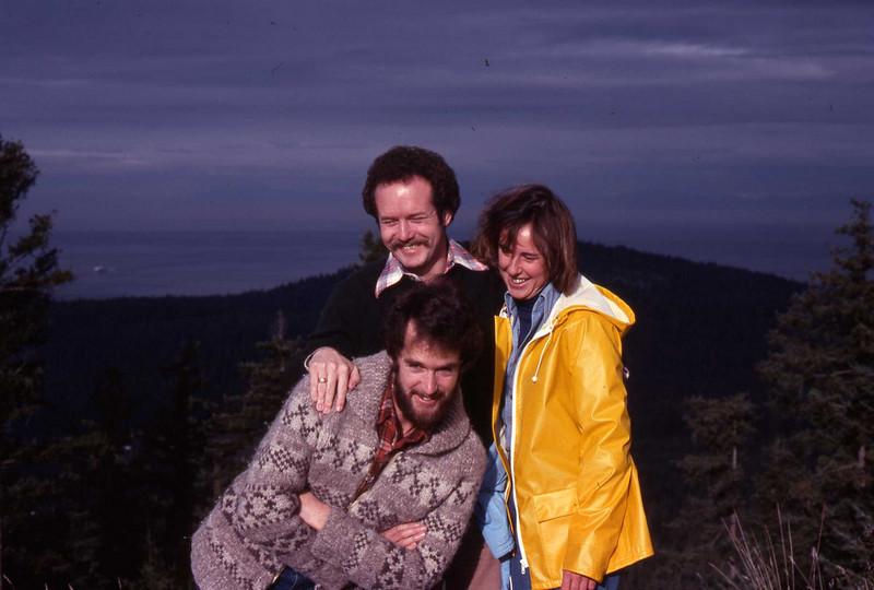 Wayne, Murray Armstrong and Ann ??