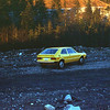 Wayne's rocket, 76 VW Scirocco (very fast), with black & yellow plaid seat inserts