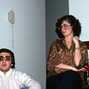Richard and Claire Rottare - the glasses were certainly large in those days !!