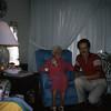 Wayne's Granny, Carrie Miller, and Wayne.