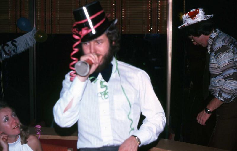 Wayne at New Years - 1976 ???