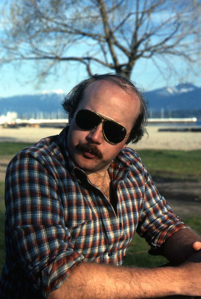 Our late friend, Howie, at Kits Point in late 70's near Ogden house.