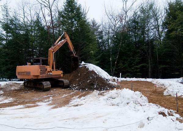 Septic system has been approved by the state and ready for backfill