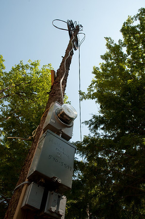 Yes, we have temporary electrical power on site now.