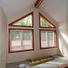 Window trim is done -- including tricky triangles!