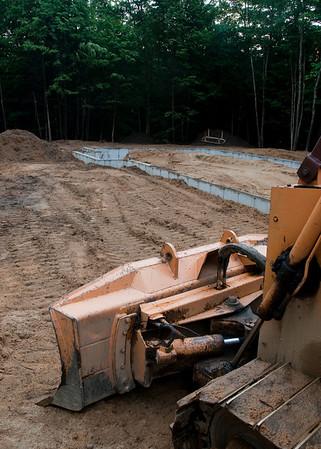 Foundation backfill underway!