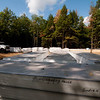 9-29-09:  SIPs panels are delivered (SIPs = structural insulated panels).