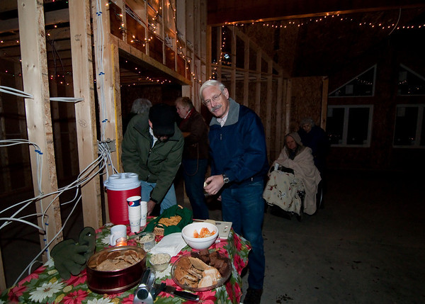 Delicious treats and hot cider