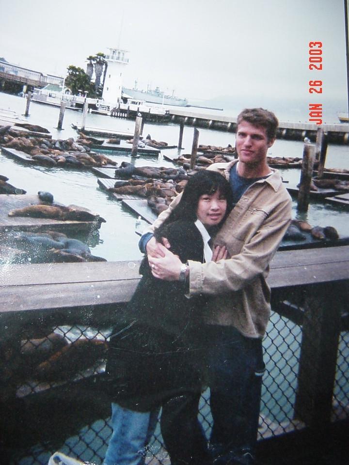 Christina Chan & honey @ Pier 39