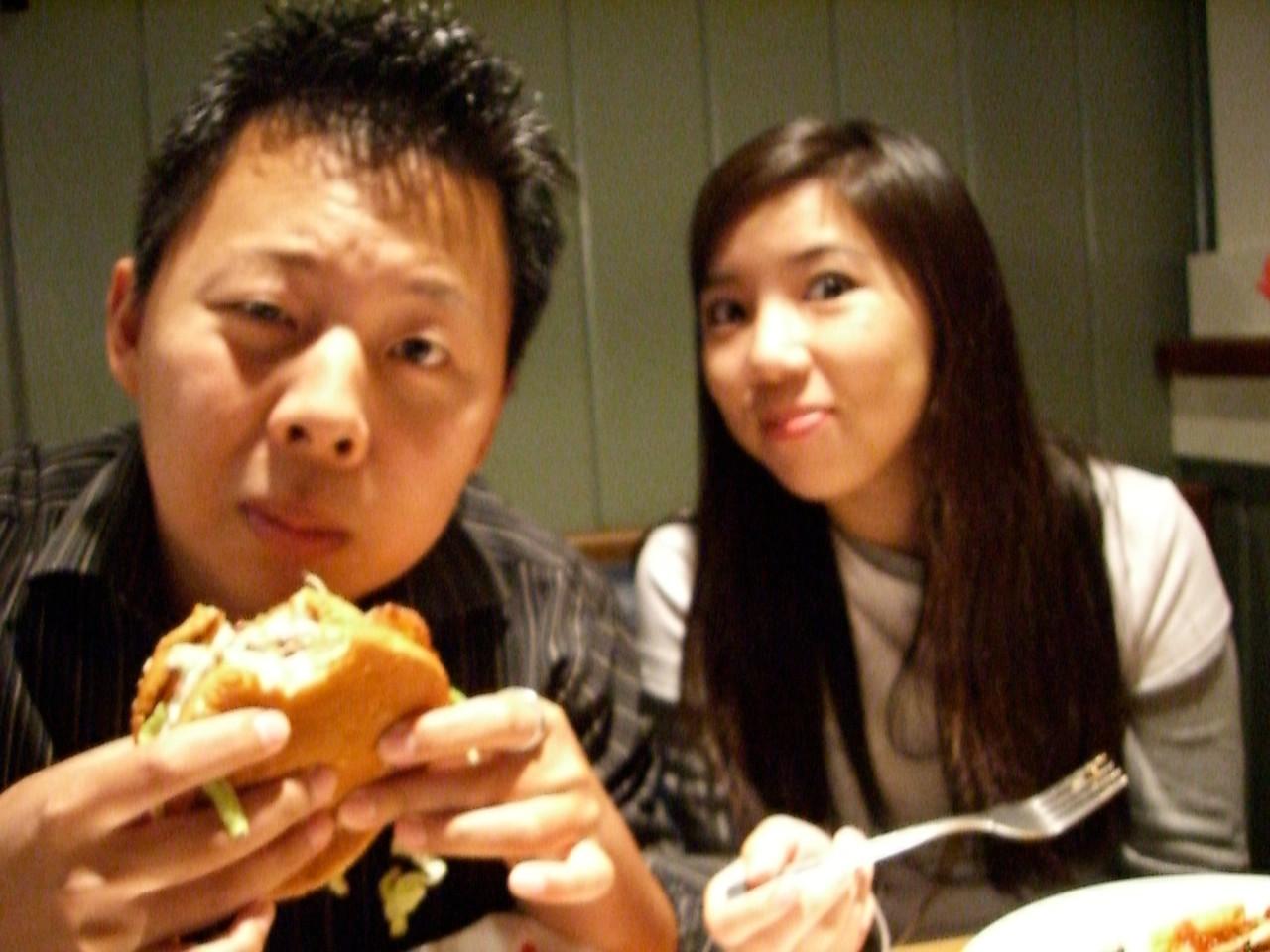 2005 08 23 Tue - Daniel Chang & Katherine Huang 1