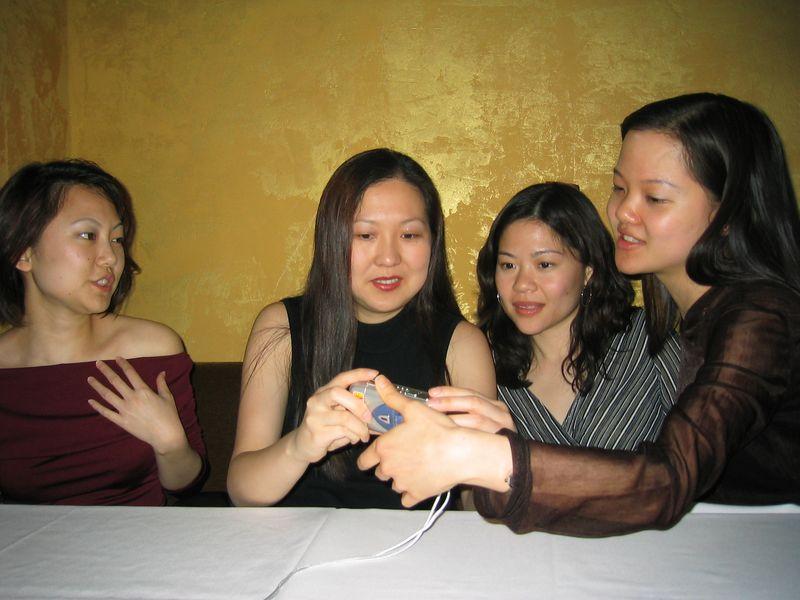 ElementSF @ Shanghai 1930 Saturday 3-15-2003, Jen, Mary, Johan, & Joann