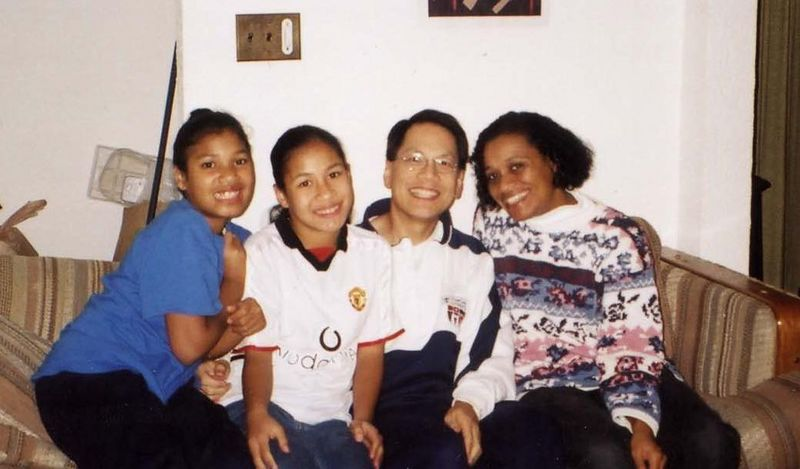 2003 December - Barry Wong's family photo
