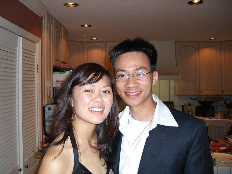 2006 05 20 Sat - Tiffany's UC Berkeley Grad Party @ home home - Tiffany Louie & Ben Yu