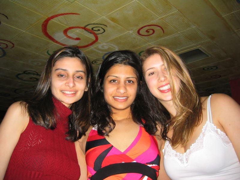 2004 03 10 Wednesday - Shaila's b-day - Natasha, Shaila, & Michelle @ Blake's