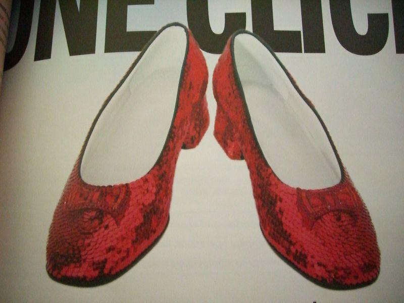 2005 10 24 Mon - Dorothy's Red Slippers example for Joann's Halloween costume