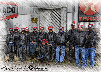 12 Naughty Biker Elves, December 2011