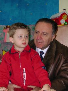 Ettore-Pierre & his dad Ettore (2004)