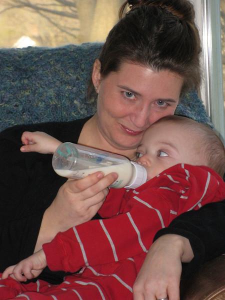 Maria & Owen, March, '09