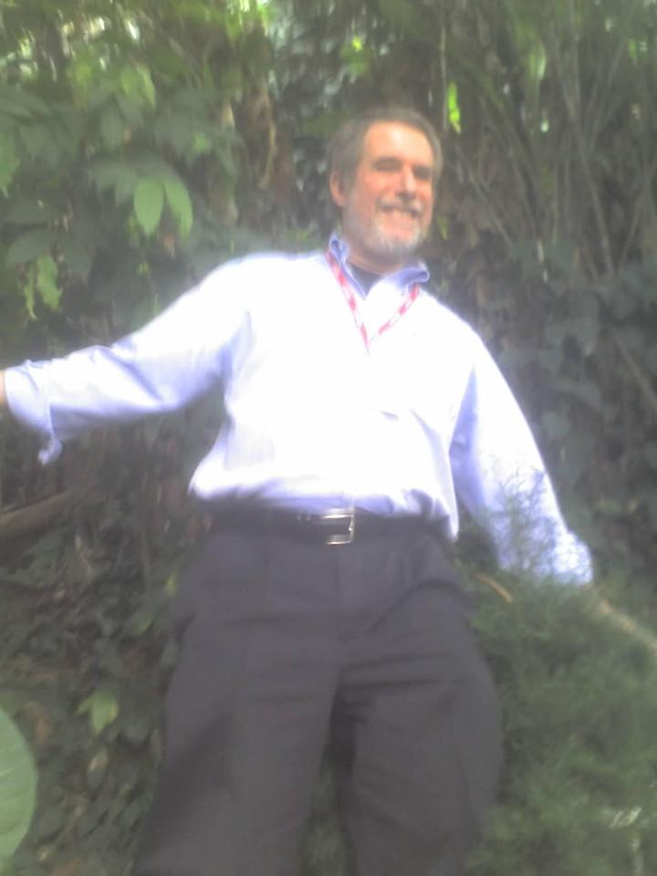 Bob in the jungle