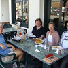 Lunch with Francis, Dick & Ben Scammell at Henneseys in Hermosa 4-19-10,