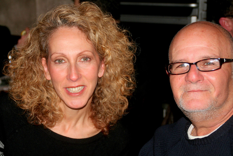 Steve's sister Phyllis with Steve's childhood friend Frank who now lives in Florida.
