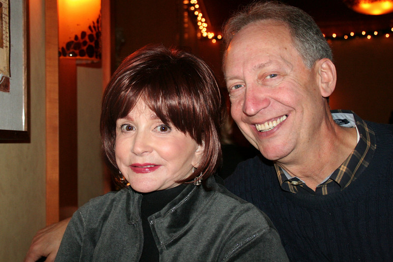 Renee' and Len Scheiner... Len and Steve were childhood friends.