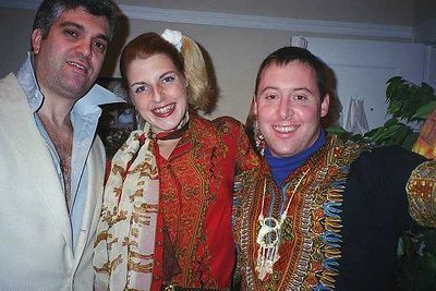 Friends pix from 2001