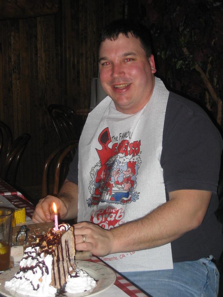 Lou's birthday cake.