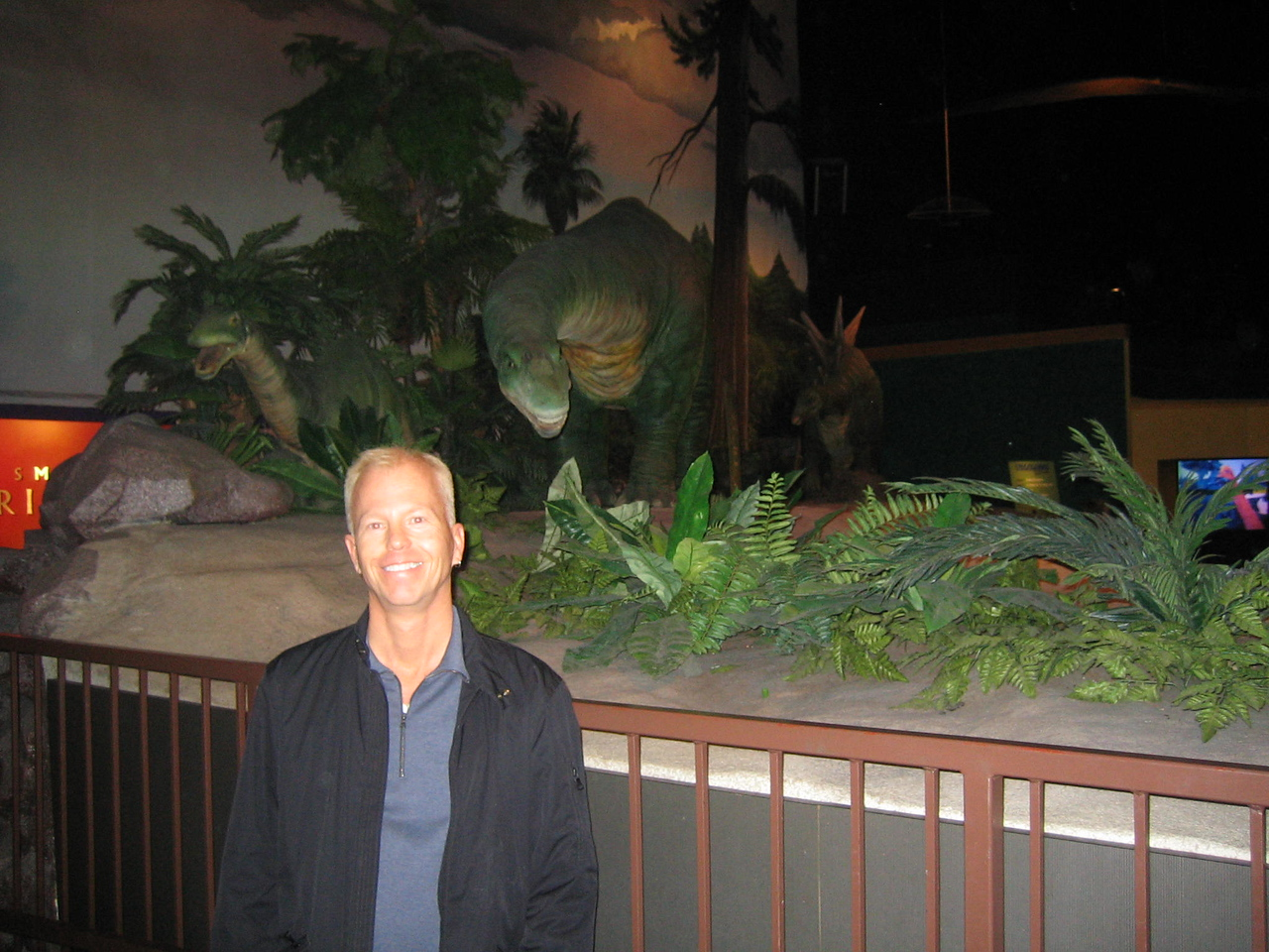 Ken at the Museum of Science