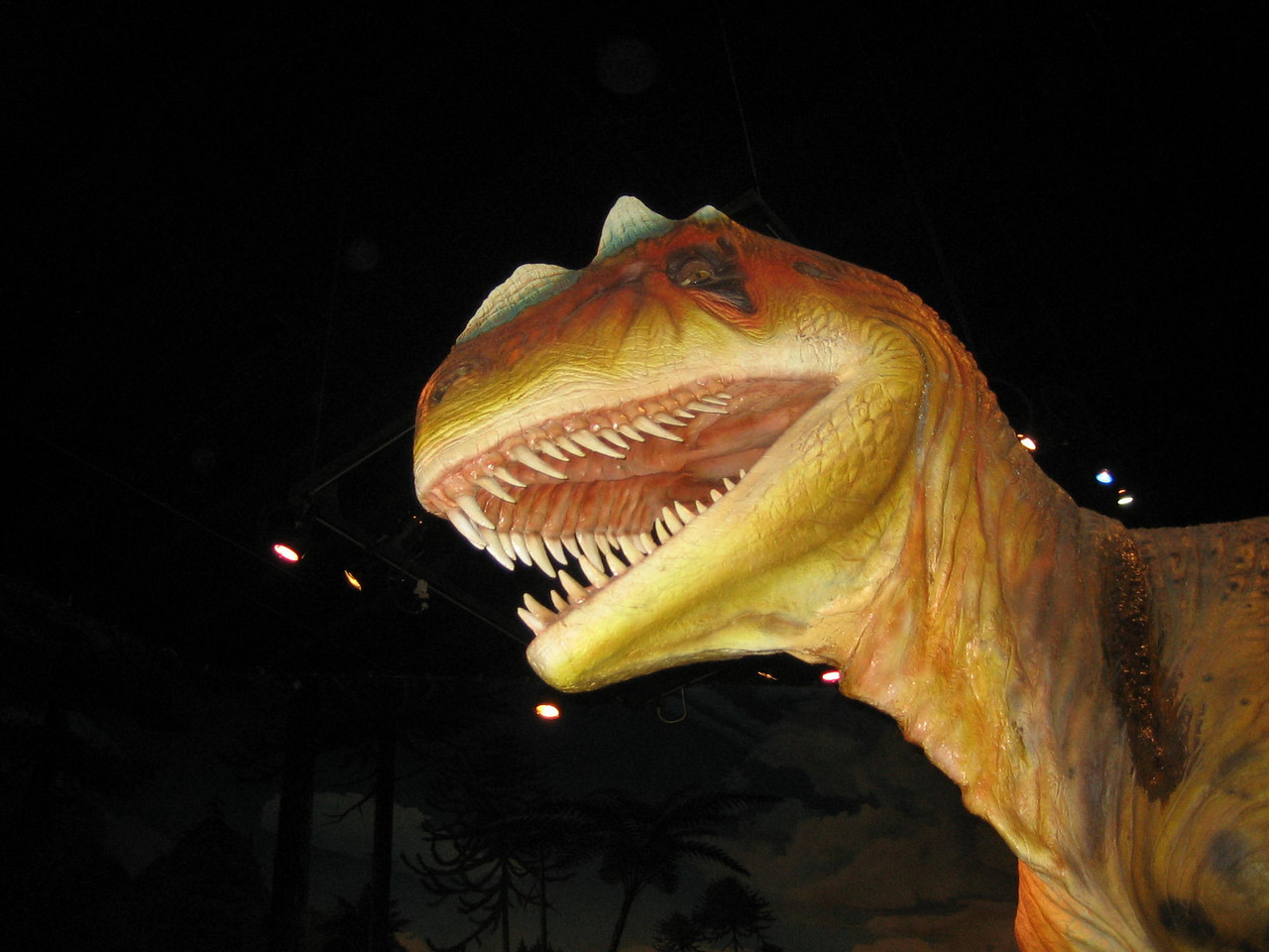 Dinosaur at the Museum of Science