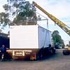 Unloading donga