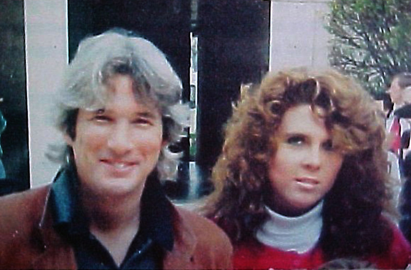 Julie with Richard Gere, 1980s