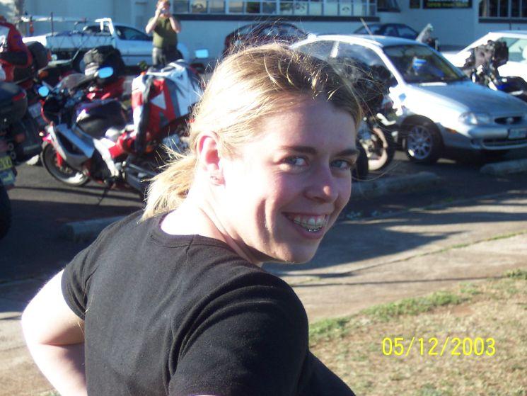 Cathy in tassie