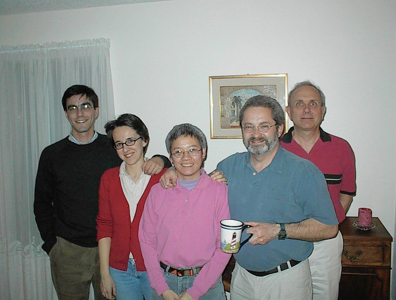 the gang: Giorgio Gotti, Sara Pozzi, Lisa Chiang, Rick Oberer, and Bob Ceo