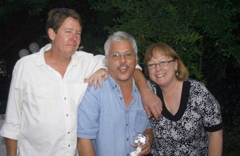 Friends: Steve, Nick and Sharon, 2008