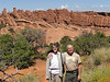 Bob Ceo and Lori Williams at Arches National Park.