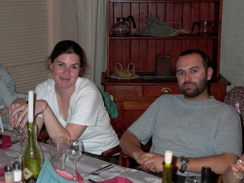 Jas and Emm - Moonan flat pub