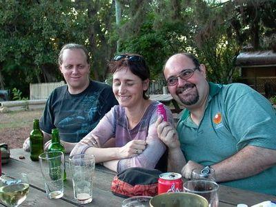 Dave , Karen, Rob - Moonan Flat pub