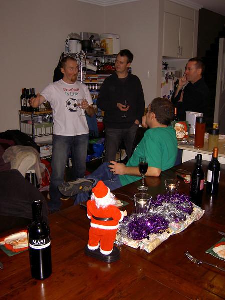 Matt, Nick, Simon and John