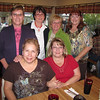 Standing: Judy, Patty, Carol and Pat.<br /> Seated: Betty and Debby