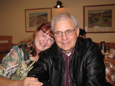 Pat and Ron Rosenbohm