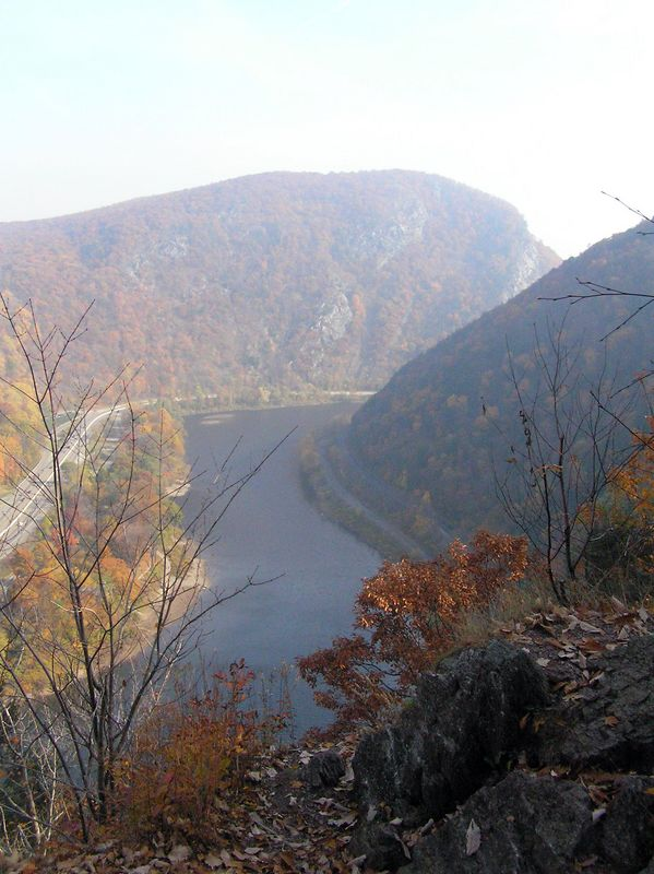View from Mt. Minsi; Delaware Water Gap, PA
